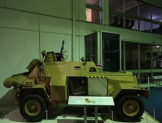 Humber Light Reconnaissance Car - Image: Humber Light Reconnaissance Car at RAF Museum London (side)