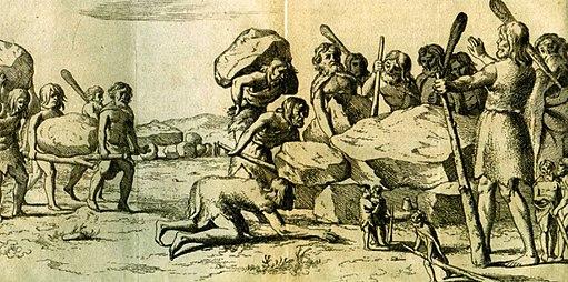 Hunebedbouwers-Annales Drenthia Picardt 1660