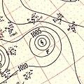 Hurricane Fox surface analysis September 8 1951.jpg