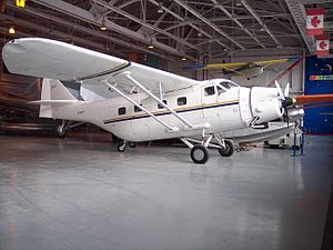 Fairchild Aircraft Ltd. - Fairchild F-11-2 on display at the Western Canada Aviation Museum, Winnipeg, Manitoba c. 2007