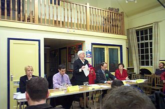 Oxford West and Abingdon (UK Parliament constituency) - A pre-election husting at the Oxford West and Abingdon constituency during the 2005 campaign.