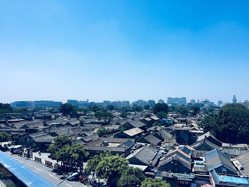 Hutongs outside Qianmen