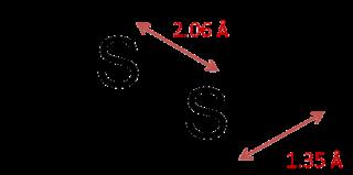 Hydrogen disulfide chemical compound