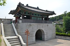 Hyehwamun - Hyehwamun, Rear, Seoul, Korea