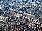 I-580 and I-238 interchange aerial view, September 2017.JPG