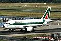 I-BIML A319-112 Alitalia FRA 30JUL05 (5805829736).jpg