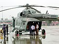 IAF personnel loading relief materials for the flood-affected people in Gujarat on July 3, 2005.jpg