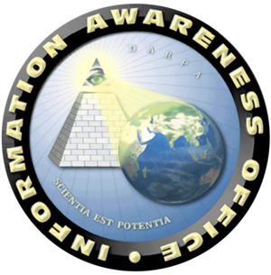 English: Information Awareness Office logo; fr...