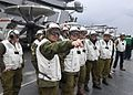 IDF Officers visit Supercarrier USS George H. W. Bush (CVN 77) (32087603633).jpg