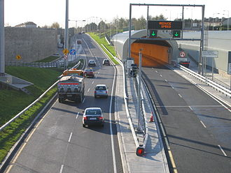 2006 in Ireland - The Dublin Port Tunnel opened in December.