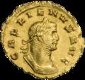 INC-1827-a Ауреус Галлиен ок. 261 г. (аверс).png