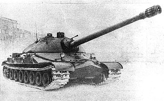IS tank family - An IS-7 tank during trials (1948)