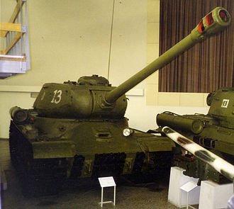 Bundeswehr Military History Museum - Image: IS2 Dresden 1