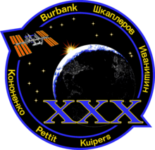 alt=Description de l'image ISS Expedition 30 Patch.png.