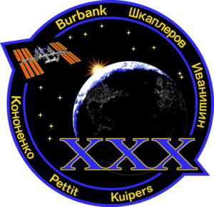 Expedition 30 - Image: ISS Expedition 30 Patch