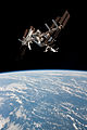 ISS and Endeavour seen from the Soyuz TMA-20 spacecraft 18b.jpg