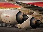 Iberia A340-600 Rolls-Royce Trent 500 engines.jpg