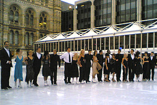 <i>Dancing on Ice</i> (series 1) First series of Dancing on Ice