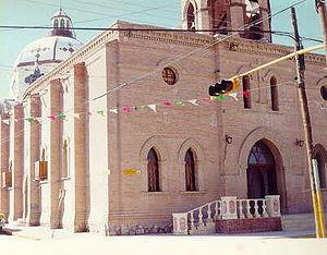 Saint James Matamoros - Roman Catholic Church in the Mexican settlement of Matamoros, Coahuila.