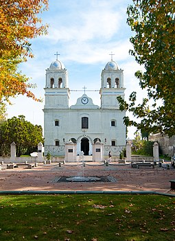 The Church of Saint Charles Borromeo in San Carlos is one of the oldest churches in Uruguay. Iglesia de San Carlos 1.jpg