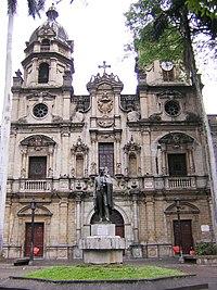Iglesia de San Ignacio-Fachada-Medellin.JPG