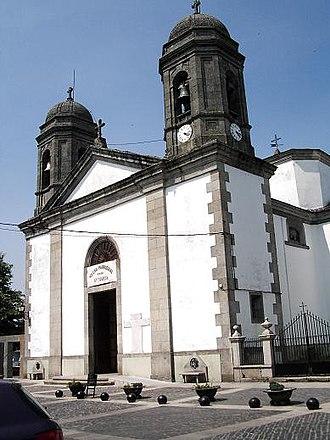 Vilalba - Image: Igrexa Sta Maria Vilalba