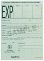 Illinois 1987 Temporary Registration Permit.png