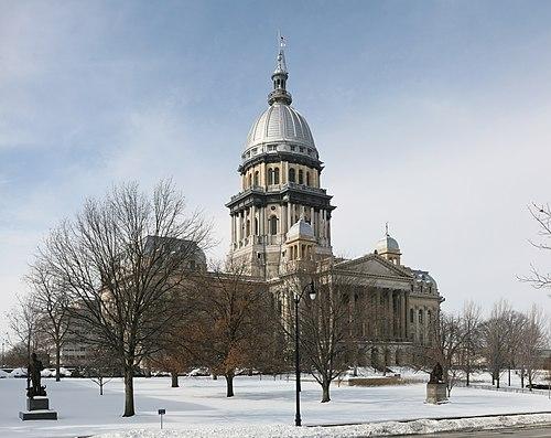 Illinois State Capitol pano.