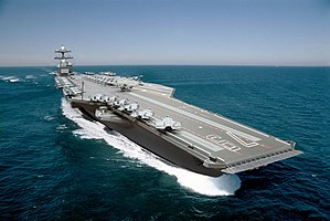 USS John F. Kennedy (CVN-79) - Image: Illustration of USS John F. Kennedy (CVN 79) (110623 N ZZ999 203)