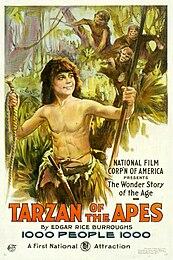 Image Tarzan of the Apes poster 1918
