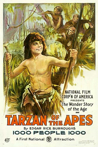 Beti people - Image: Image Tarzan of the Apes poster 1918