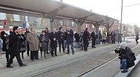 Inauguration de la branche vers Vieux-Condé de la ligne B du tramway de Valenciennes le 13 décembre 2013 (134).JPG