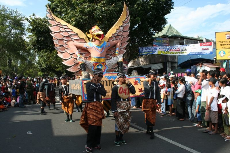 Independence Day carnival Bantul