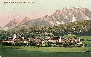 Prince-Bishopric of Freising - Innichen, now San Candido in the farthest reaches of South Tyrol near the Austrian border, belonged to the prince-bishops for more than 1000 years