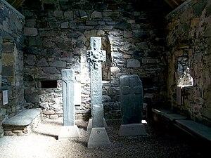 Keills Chapel - Image: Inside Kiells Chapel By Hype Napungra