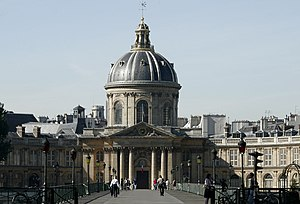 Valz Prize - The Institut de France in Paris, home of the French Academy of Sciences.