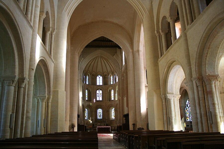 Choeur de l'abbaye de Cerisy la Forêt - Manche - France