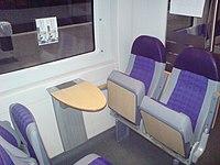 Interiøret af den nye togtype X61