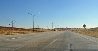 Interstate 27 - I-27 in Tulia