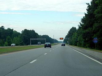 Interstate 530 - I-530/US 167 in Pulaski County