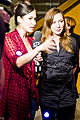 Interviewer Cynthia Loyst at an event at the Bata shoe museum (6211377608).jpg