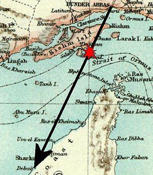 Iran Air 655 Strait of hormuz