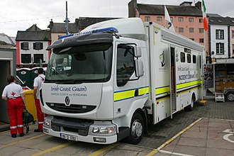 Irish Coast Guard - IRCG mobile incident command unit