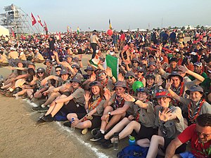 Scouting Ireland - Irish Scouts at the 2015 World Scout Jamboree in Japan