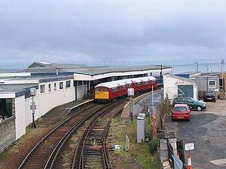 Island Line, Isle of Wight - Image: Isle of Wight Inselbahn