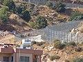 Israel border in Majdal Shams, Golan Heights, 2017 04.jpg