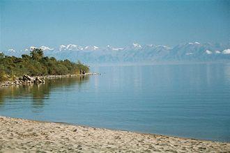 Issyk-Kul - Southern shore of Issyk-Kul Lake