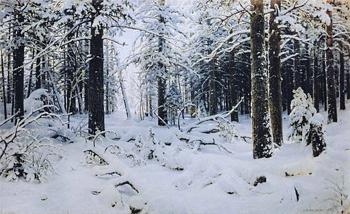 Ivan Shishkin - Winter