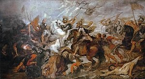 Battle of Ivry - Henry IV at the Battle of Ivry, by Peter Paul Rubens (Uffizi)