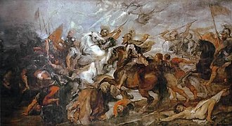 The Second of May 1808 - Henry IV at the Battle of Ivry by Peter Paul Rubens (Uffizi)